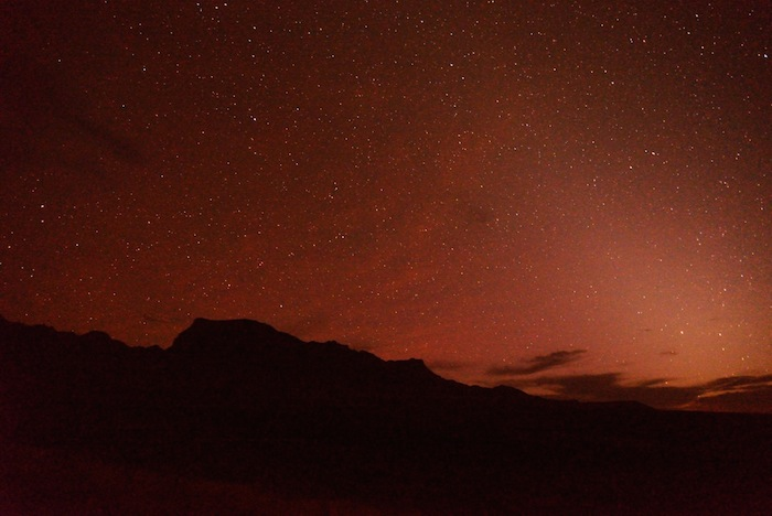 The night sky over West Texas. Photo by Gretchen Greer.