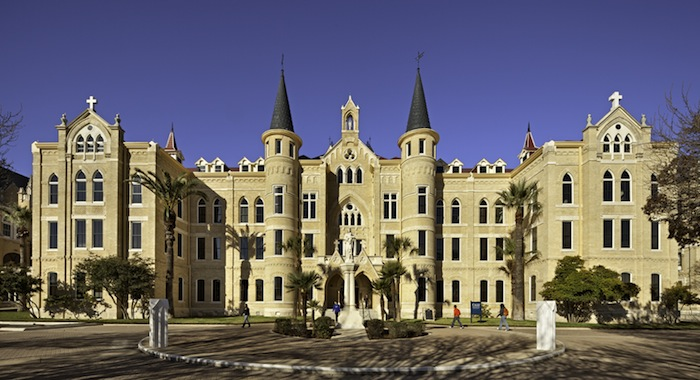 Our Lady of the Lake University main building was restored by Muñoz & Co. Courtesy photo.