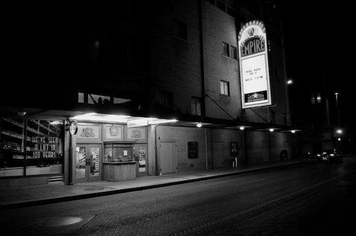 The Empire Theatre hosts and sponsors PechaKucha San Antonio. Photo by Iris Dimmick.