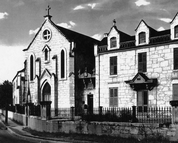 Historical photo of the Ursuline Academy and Convent. Courtesy photo.