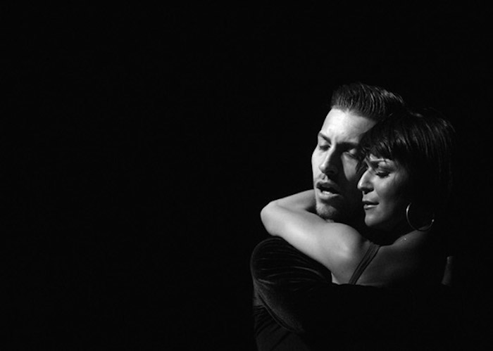 "Musical Bridges' ""Viva Havana"" gala featuring Kiki Nyemchek (left) and Magda Fialek (right). Photo by Ken Mahnke."