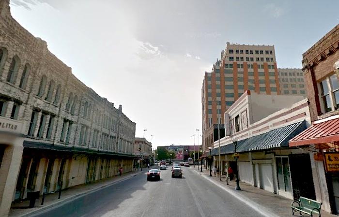 Looking east down Commerce Street. Photo via Google Maps.