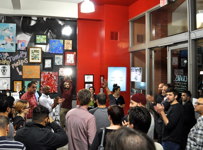 Awesome SA awards pack Canvas, one of several OPEN: Downtown Pop-up Shops. Photo by Iris Dimmick.
