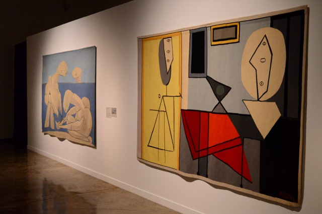 Nelson Rockefeller's Picasso Tapestries exhibit. Photo by Page Graham.