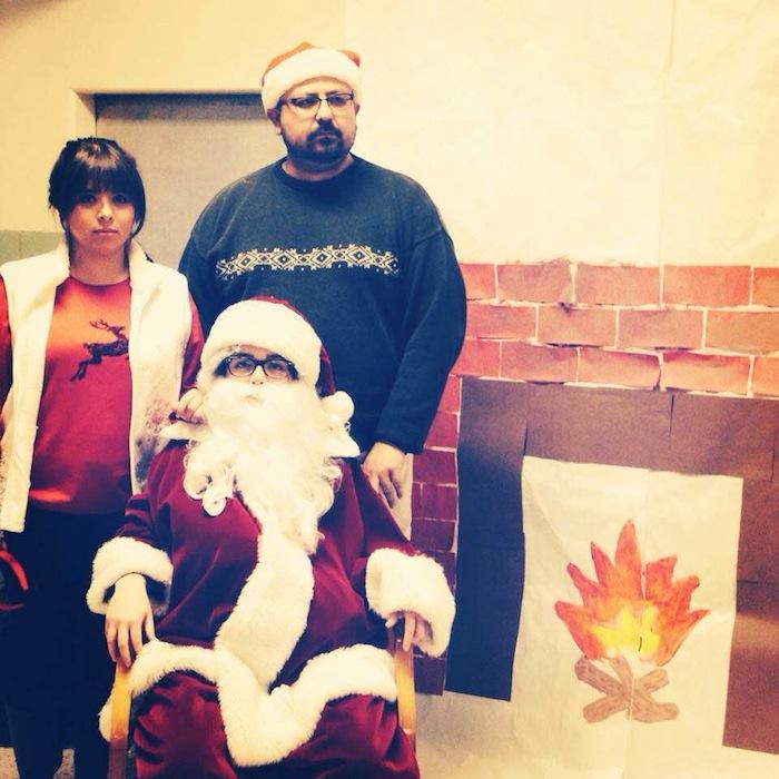 Eddie Vega of Christmas past. Courtesy photo.