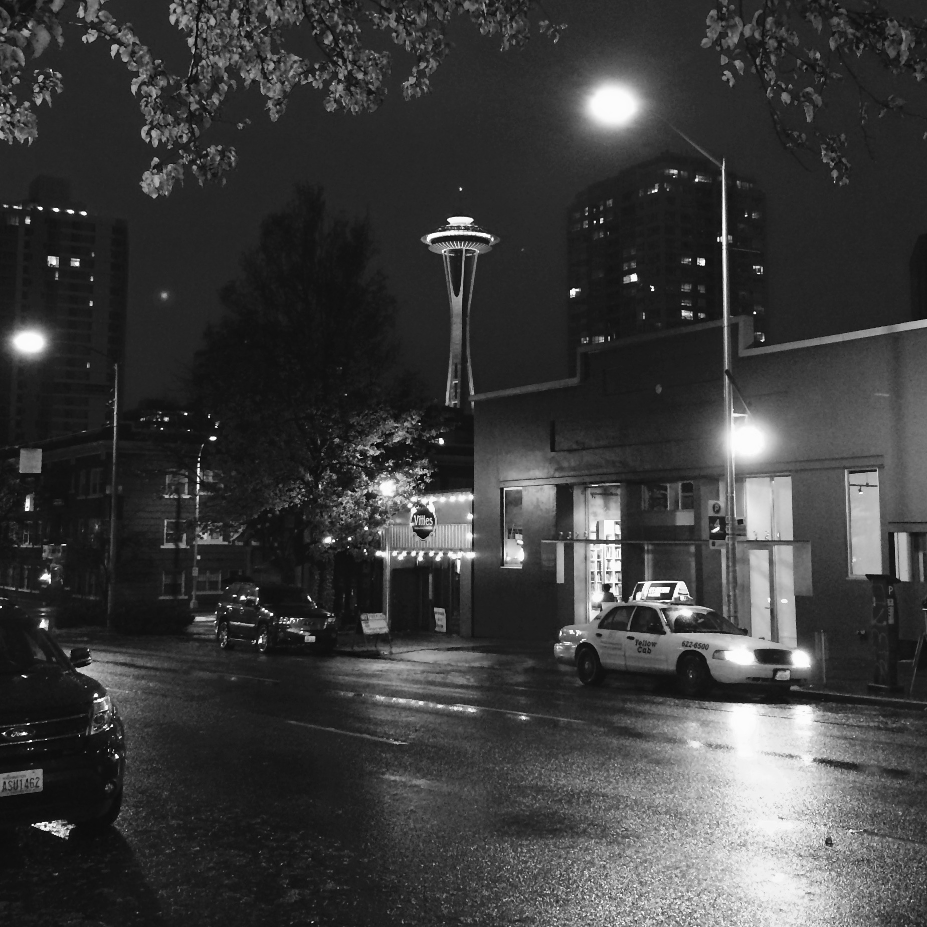 A Seattle Icon at Night