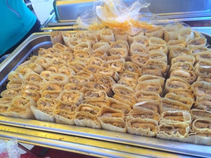 La Hacienda Product's tamales.