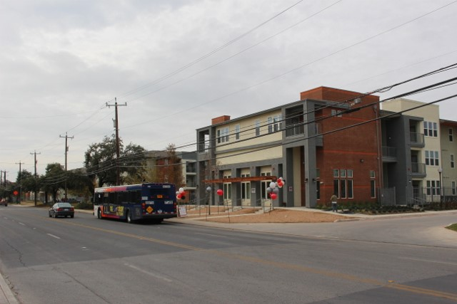 A crosswalk with stoplights is going to be built along Zarzamora Street. Photo by Page Graham.