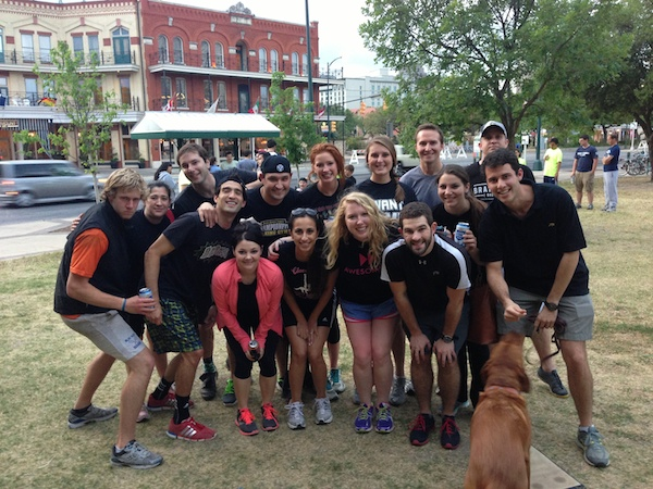 Kickalob Ultra, a Downtown Kickball force to be reckoned with. Courtesy photo.