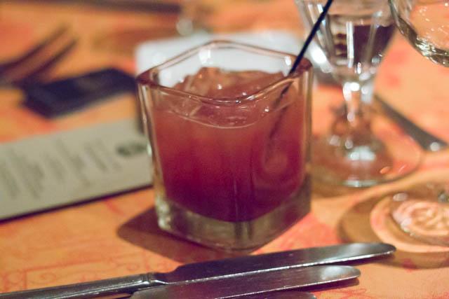 Blood and Sand Scotch cocktail. Photo by Garrett Heath.
