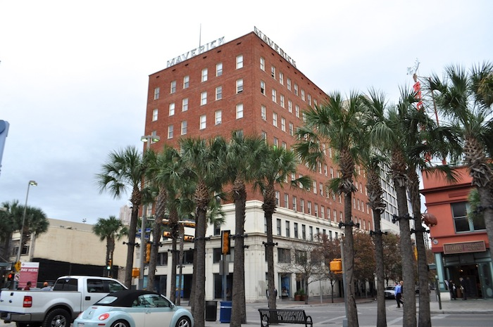 The Maverick Building at the corner of Houston and Presa streets. Photo by Iris Dimmick.
