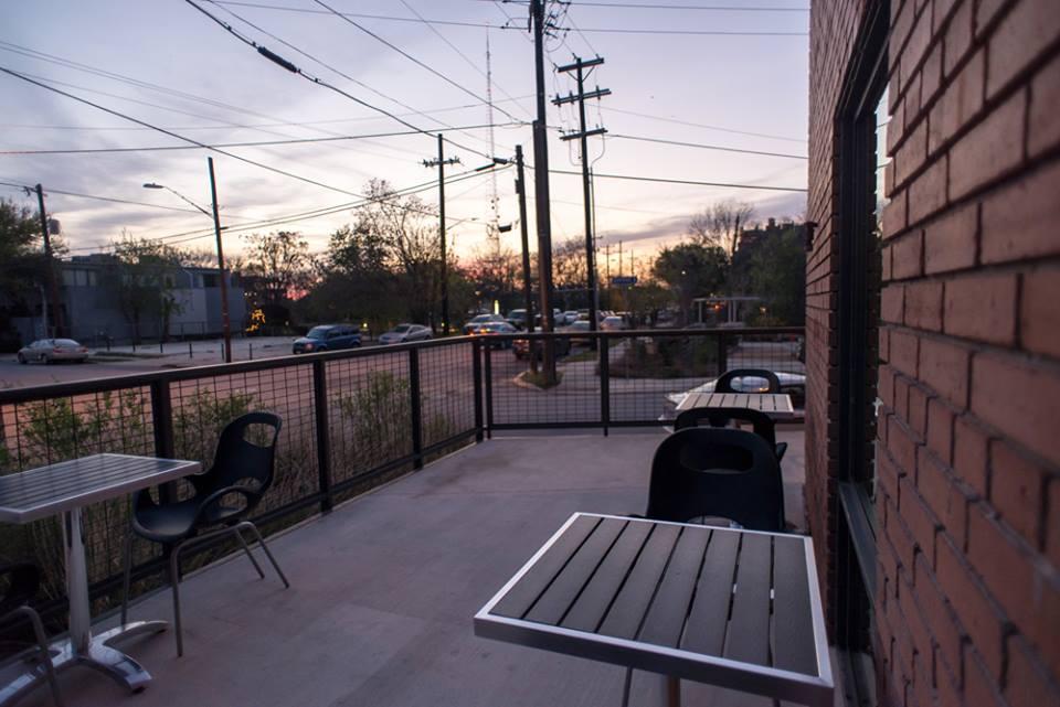 Rosella's patio at sunset. Courtesy photo.