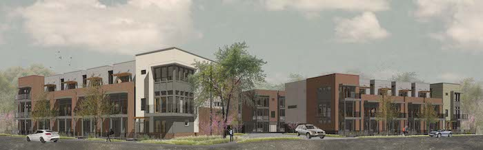 SOJO Crossing rendering courtesy of Alamo Architects.