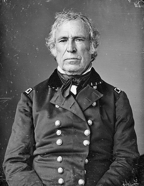 Gen. Zachary Taylor commanded the U.S. Army of Occupation that President Polk sent to the disputed Trans-Nueces territory after the annexation of Texas. Taylor became a national hero following his victories at Palo Alto, Resaca de la Palma and Monterrey.