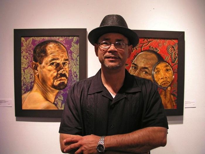 Angel Rodriguez-Diaz in hid studio. Photo by Eric lane