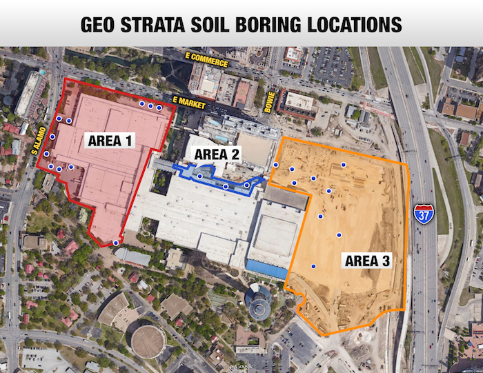 Geo Strata Boring Map1