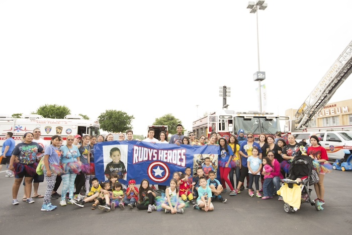 """""""Rudy's Heros"""" gather during Any Baby Can's Walk for Autism. Photo courtesy of Any Baby Can."""
