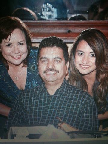 Rose Flores, Art Flores Sr., his wife, and Lori Ann Flores-Garcia. Courtesy photo.