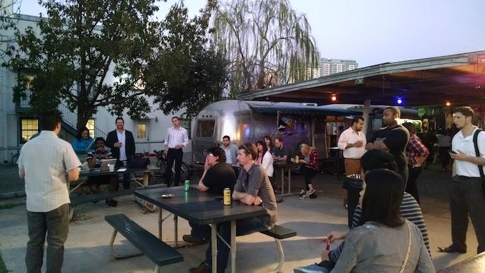 1 Million Pints showcases entrepreneurs every Tuesday at various locations including Alamo Street Eat Bar. Courtesy photo.