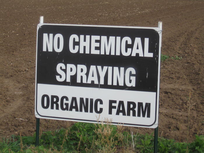 Organic Certification means farmers will not use most chemical pesticides or fertilizers. Photo courtesy of TOFGA.