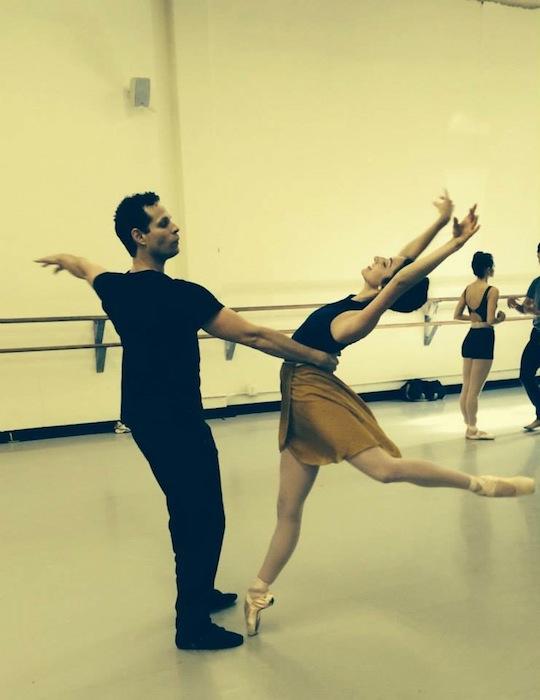 "Sally Turkel and partner Yosvani Cortellan will perform ""Romeo and Juliet"" at the Tobin Center during Valentine's day weekend. Photo courtesy of Ballet San Antonio."