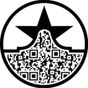 The traditional paper copy of the Texas Star Trail Tour features a QR code allowing users to scan for quick access to the website.