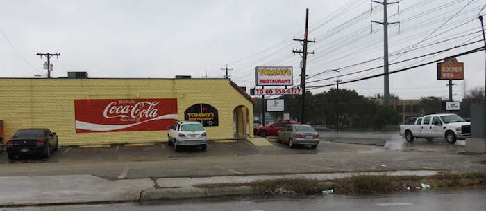 Tommy's Restaurant, a great Mexican restaurant with origins on Nogalitos Street south of downtown. Photo by Warren Lieberman.