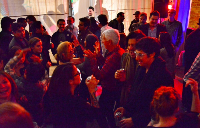 Dancing got into full swing at the CAM After Party. Photo by Page Graham.