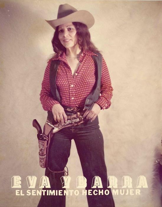 A young Eva Ybarra poses for a promotional poster. Courtesy photo.