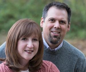 Rachel and Wade Ortego.