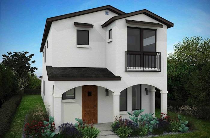 Exterior image of a future garden home in Olmos Park. Courtesy image.