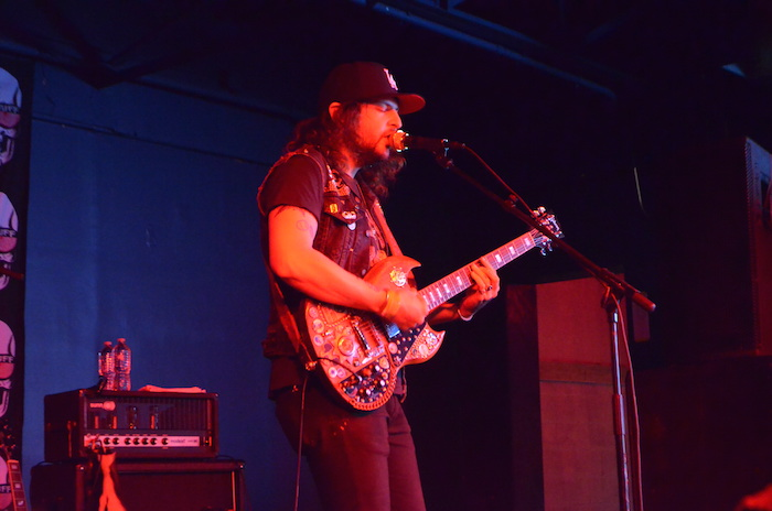 King Tuff performing on the main stage at Paper Tiger's kick off day one. Photo by Alyssa Bunting.