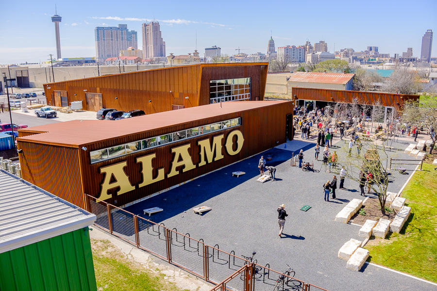 Alamo Beer Company is located at 202 Lamar Street.