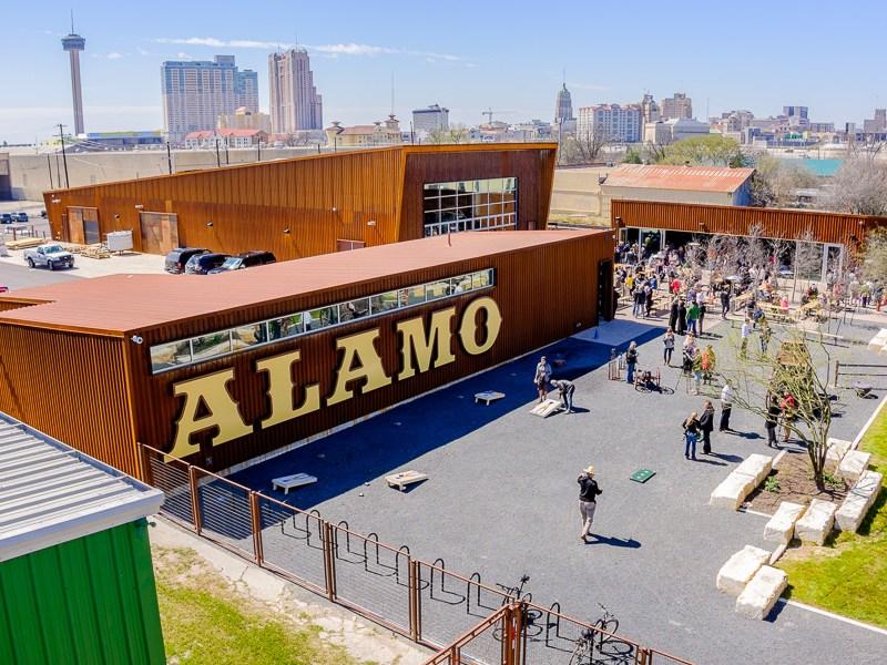 Alamo Beer Company is located at 202 Lamar Street.