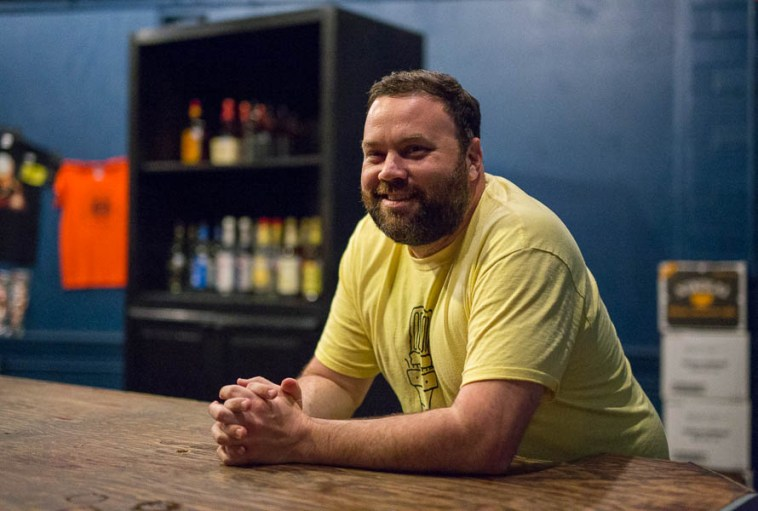 Paper Tiger owner and local restauranteur Chad Carey.  Photo by Scott Ball.