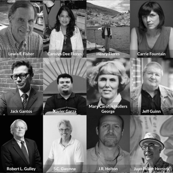 A selection of authors participating in the 2015 San Antonio Book Festival. Courtesy image.