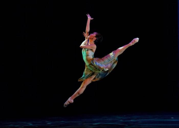 "Carol Tang in ""Butterflying."" Photo by Alexander Devora."