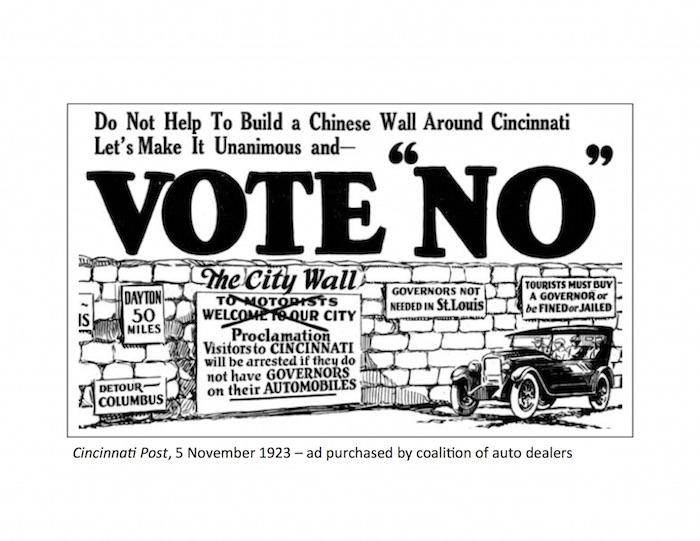 Figure 2 - Cincinnati ad