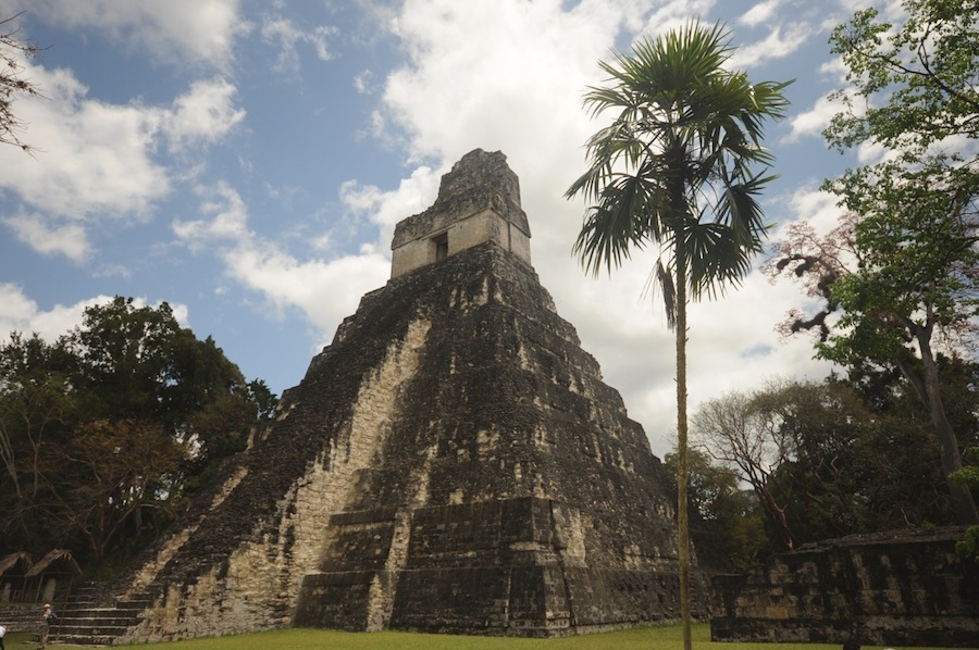 Exploring the ruins of Tikal in Guatemala. Photo by Everett Redus.