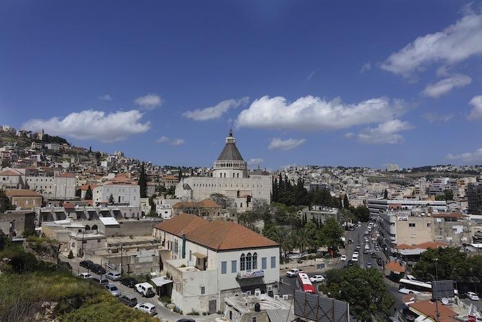 The city of Nazareth, Israel. Photo by Alan Weinkrantz.