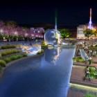 "The ""Salon de Alameda"" stretch of the San Pedro Creek Improvements Project. Rendering courtesy of Muñoz & Company."