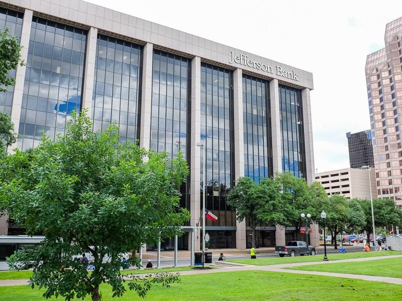 Travis Park Plaza Building at 711 Navarro Street. Photo by Scott Ball.