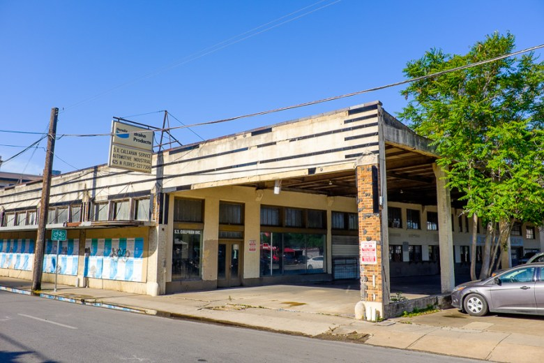 The S.X. Callahan Building. Photo by Scott Ball.