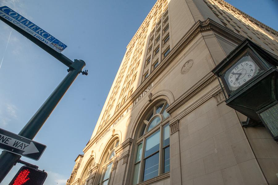 The Municipal Plaza Building at Main Plaza. Photo by Scott Ball.