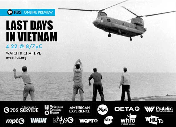 """Promotional photo for """"Last Days of Vietnam."""" Courtesy photo, PBS."""