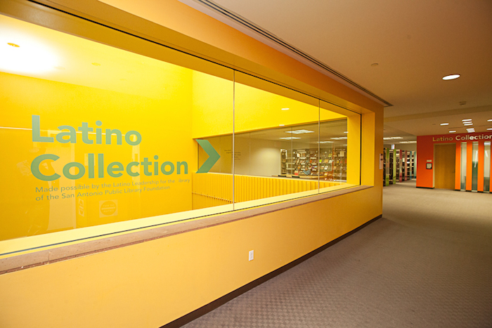 Central Library's Latino Collection on the sixth floor. Courtesy photo.
