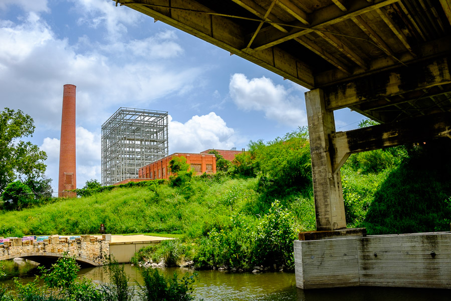 The future site of the CPS Energy Epicenter. Photo by Scott Ball.