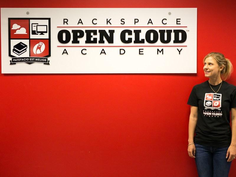 Senior Manager of Global Development for OCA and Rackspace University Deborah Carter poses for a photo. Photo by Scott Ball.
