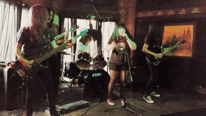 Local band The Hundersins play at Hi-Tones on Sunday during Local Music Week 2015. Photo courtesy of LMW.