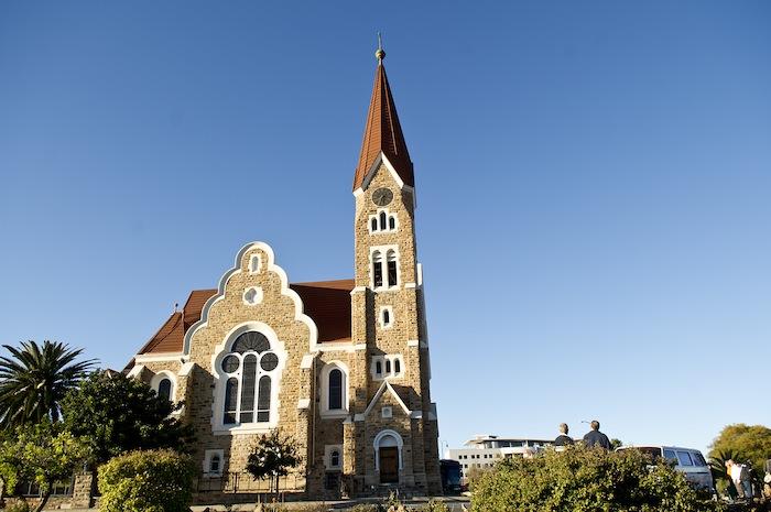 Christuskirche in Windhoek, Namibia. Courtesy photo.